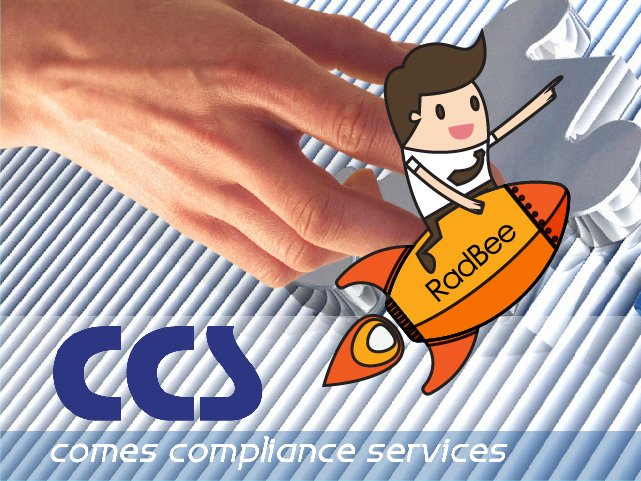 RadBee announces new collaboration with comes compliance services (CCS)