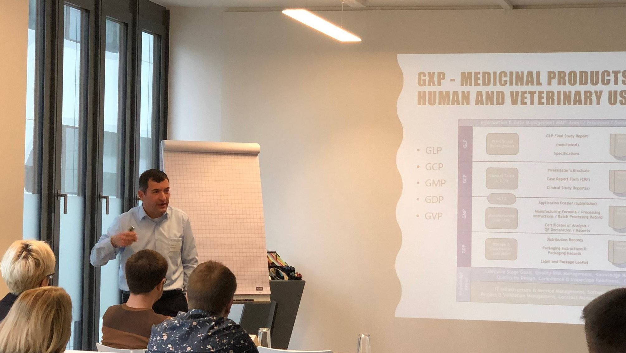 Markus Roemer, in Stuttgart, puts order in the GXP regulatory landscape